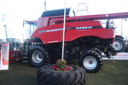 Case IH 8120 Combine Harvester at Lamma - IMG 4616