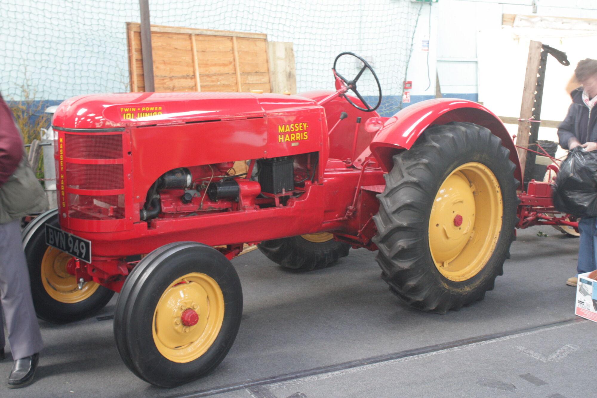 Massey Harris Tractor : Massey harris junior tractor construction plant