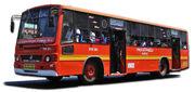 MTC orange line bus