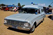 1964 Ford Falcon Police Van