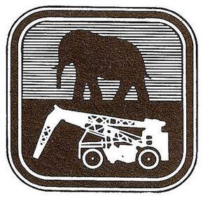 F.TAYLOR Crane company original emblem