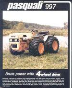 Pasquali 997 MFWD brochure