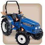 FarmTrac 390 HST MFWD-2004