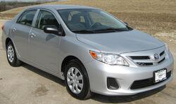 2011 Toyota Corolla -- NHTSA