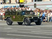 Ukrainian Humvees - Independence Day parade in Kiev