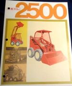 Gehl 2500 skid-steer (red) brochure
