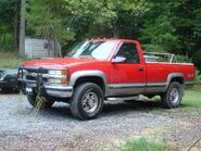 1998 K2500 Turbo Diesel with NV 4500