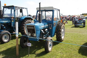 Ford 3600 - at Barleylands 2011 - IMG 6336