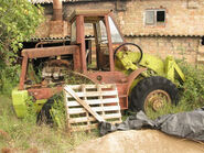 1980 CALSA 1000B 4X4 Loader under restoration