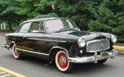 Rambler American 1st-generation black sedan