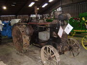 Rumley OilPull (unrestored) at Peterborough NTS 08 - PA180097