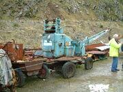 Neal site crane at VET