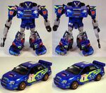 Binaltech Smokescreen Toy