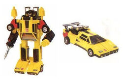 G1Sunstreaker toy