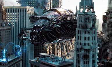 Transformers 3 decepticon warship