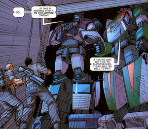 Escalation2 JazzWheeljack party