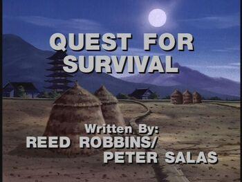 Quest for Survival title shot