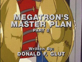 Megatron's Master Plan 2 title shot