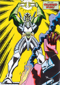 Thunderwing with matrix