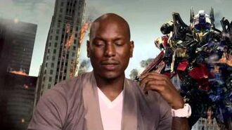 Tyrese Gibson 'Transformers 3 Dark of the Moon' Interview