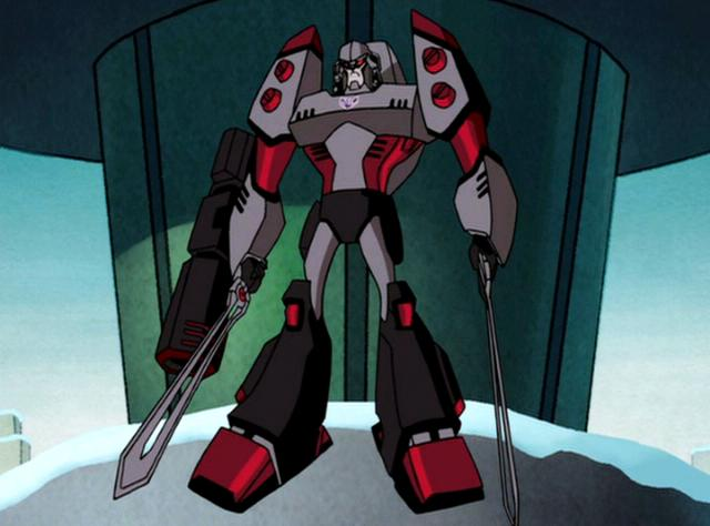 File:Megatron Rising Megatron descends.JPG
