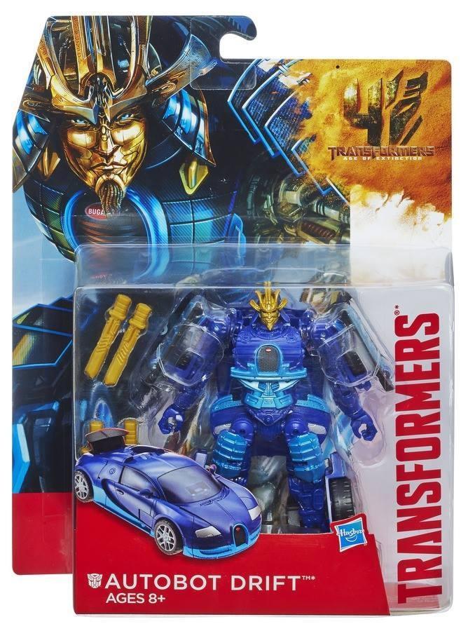 Figurine Transformers : Dinos étinceleurs : Drift et Slug Dino Hasbro