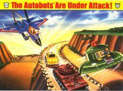 Theautobotsareunderattack