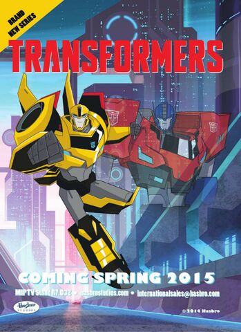 File:New TF Series Optimus and Bumblebee.jpg