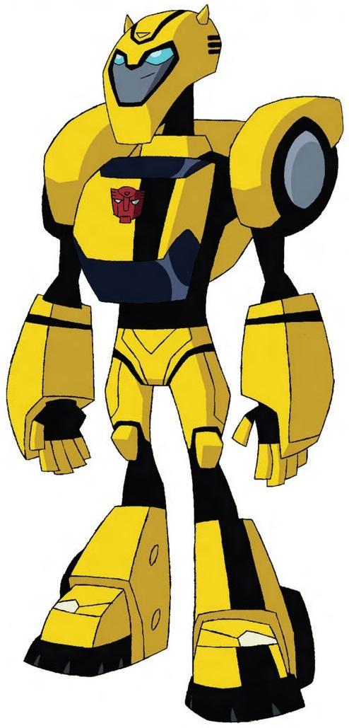 Bumblebee Transformers Animated Bumblebee  Autobot speedster