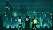 First Look at TRON Uprising The Disney Animated Series 720p BluRay DD5 1 x264-CtrlHD mkv snapshot 00 33 2011 04 19 22 19 341