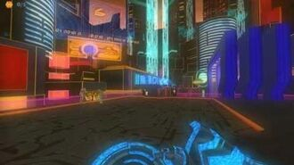 Tron 2.0 Net-City 4K HD, get offered some illegal code...