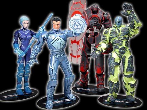 File:TRON2 0MovieActionFigureAssortmentSetof4.jpg