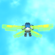 Digital Dragonfly Wings ingame