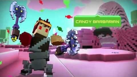 CANDY BARBARIAN Class
