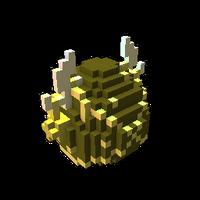 Golden Joyous Dragon Egg