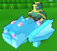 Snowcone Dragon In-Game