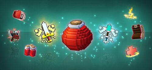 Flasks and Emblems
