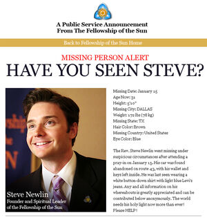 Newlin Where the Hell is Steve Newlin?
