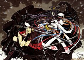 Kurogane and tomoyo