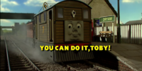 You Can Do it, Toby!