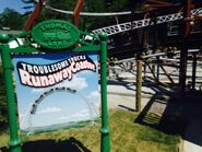 TroublesomeTrucksRunawayCoasterSign