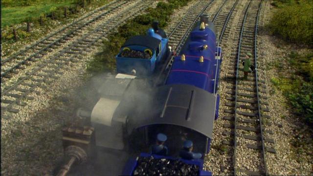 第12シーズンのノース・ウェスタン鉄道の乗客