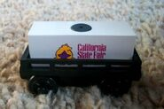 WoodenRailwayCaliforniaStateFairCargoCar