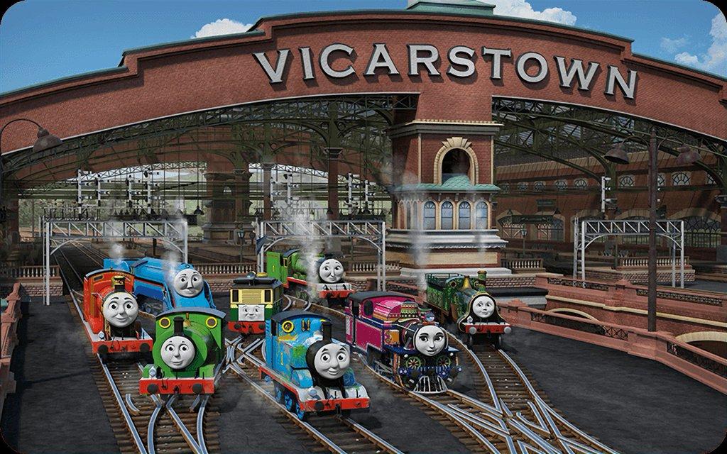 Vicarstown Thomas The Tank Engine Wikia Fandom Powered