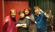 RyoHorikawa with Dragon Ball Z Cast