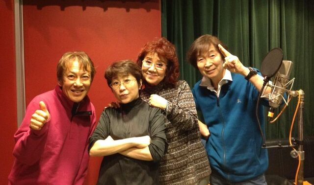 File:RyoHorikawa with Dragon Ball Z Cast.jpg