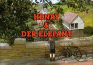 HenryandtheElephantGermantitlecard