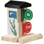 WoodenRailwayStopAndGoStation