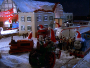 きかんしゃたちのクリスマスキャロル(画像がぼけていますので画質の修正をお願いします。)