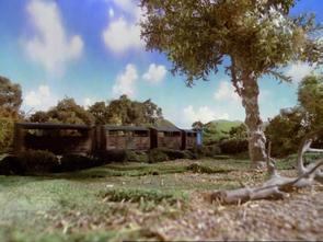 未公開シーン(牛がヘンリーに近寄るシーンを別視点から撮影した画像)